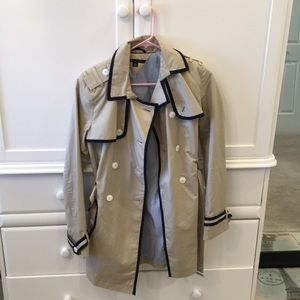 TOMMY Hilfiger Double Breasted Tan Trench Coat